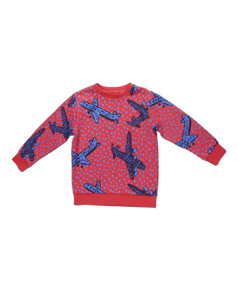 Stella McCartney Kids Stella McCartney Kids BIZ SWEATER W/AEROPLANE PRINT