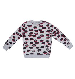 Stella McCartney Kids Stella McCartney Kids BIZ SWEATER W/BUBBLES PRINT