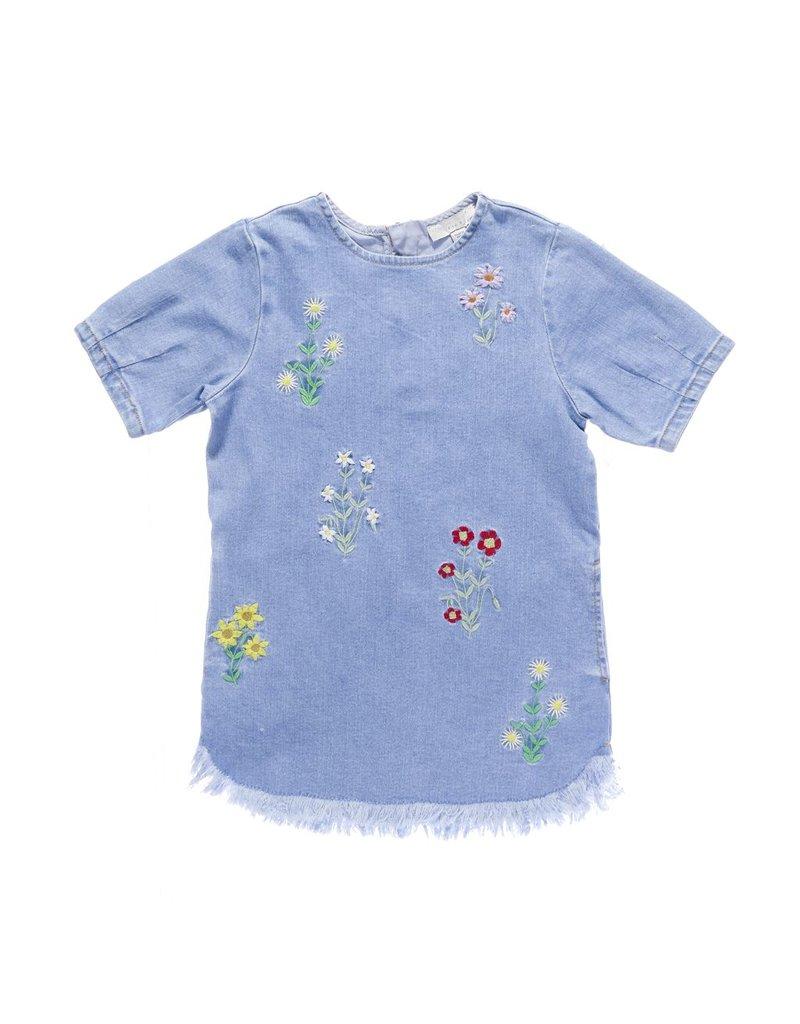 Stella McCartney Kids Stella McCartney Kids BESS DRESS W/EMBRO FLOWERS