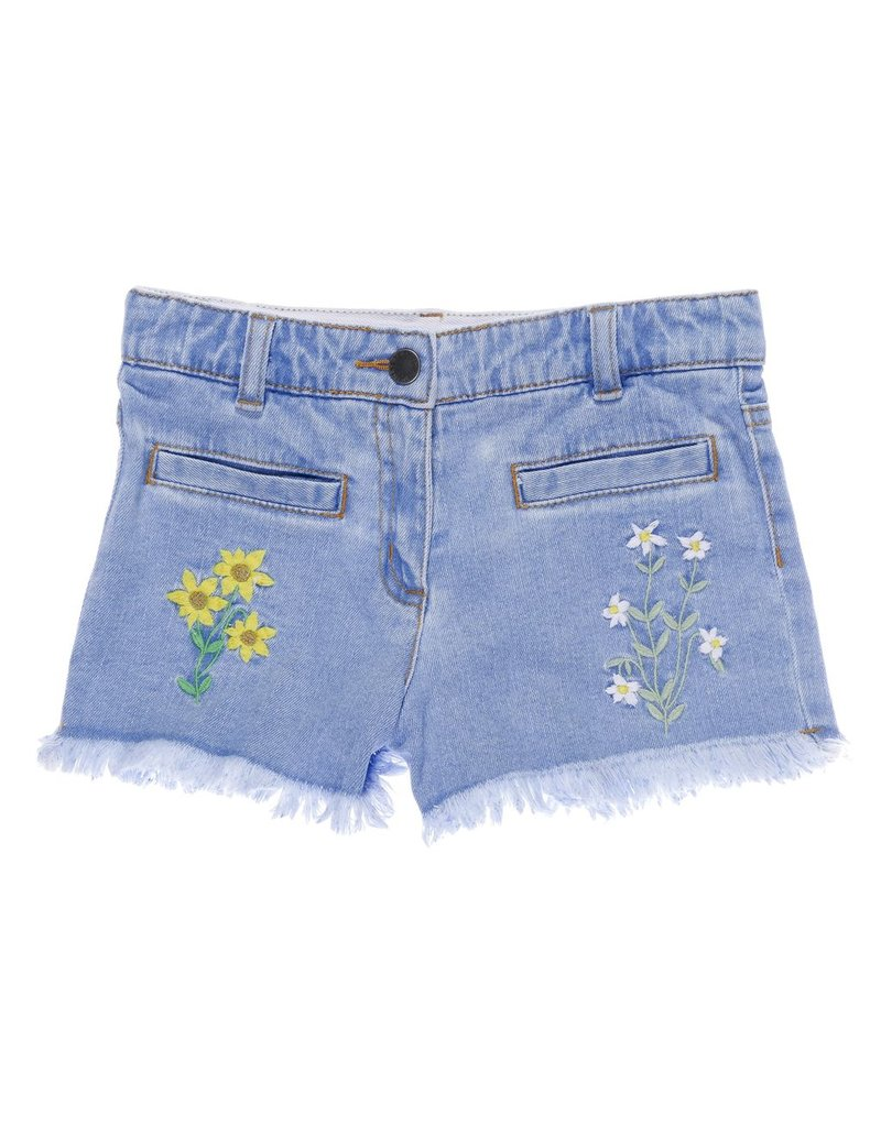 Stella McCartney Kids Stella McCartney Kids MARLIN SHORTS EMBRO FLOWERS