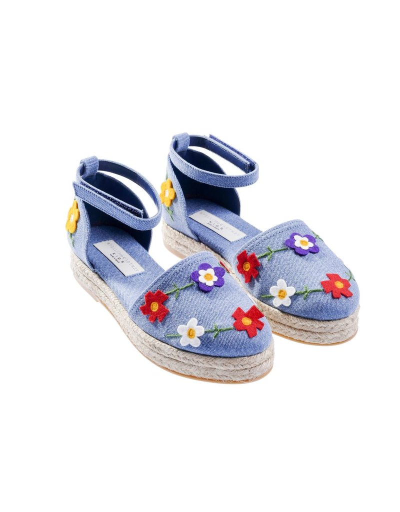 Stella McCartney Kids Stella McCartney Kids FLORA ESPADRILLAS FELT FLOWER