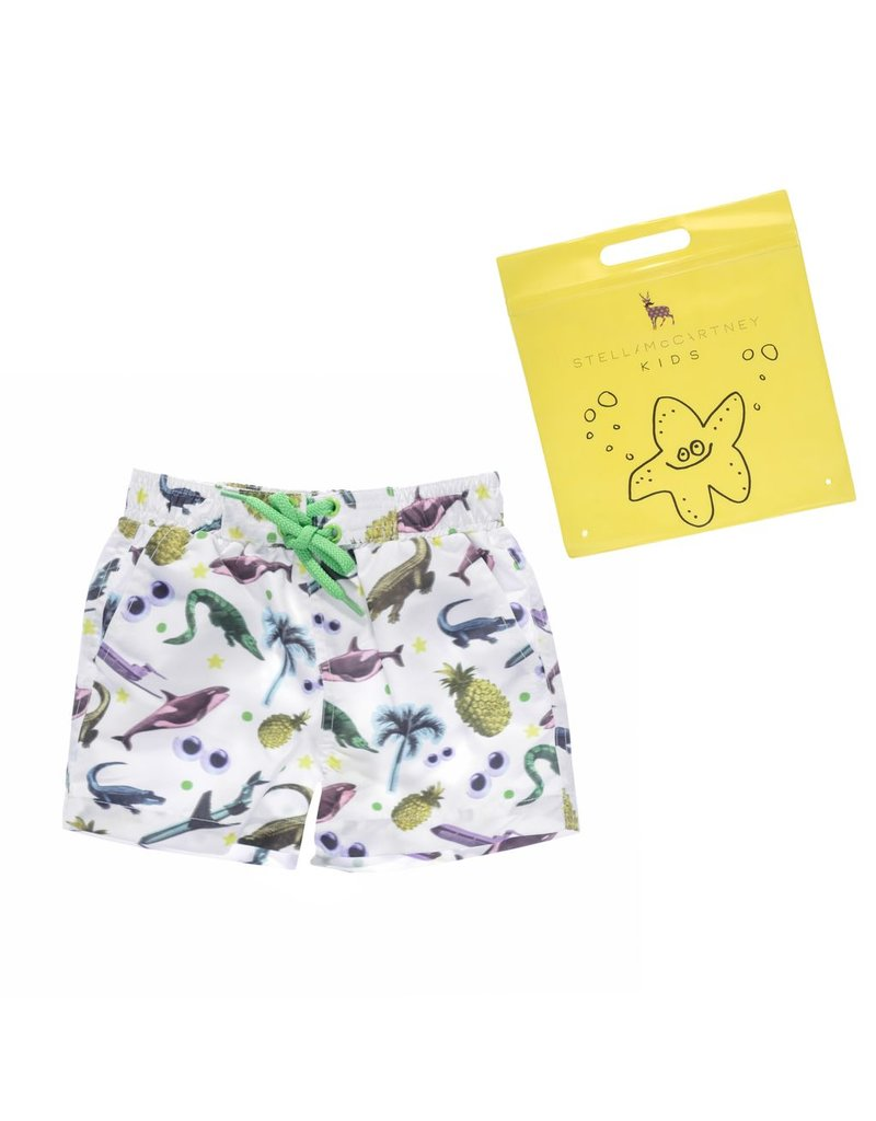 Stella McCartney Kids Stella McCartney Kids TAYLOR SWIMWEAR STICKERS PRINT