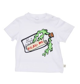 Stella McCartney Kids Stella McCartney Kids CHUCKLE MESSAGE IN A BOTTLE PRINT