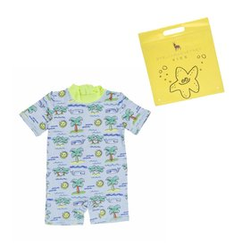 Stella McCartney Kids Stella McCartney Kids SONNY ALL IN ONE W/FLURO BEACH