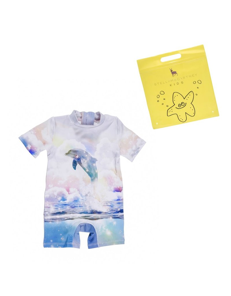 Stella McCartney Kids Stella McCartney Kids SONNY ALL IN ONE W/DOLPHINE PRINT