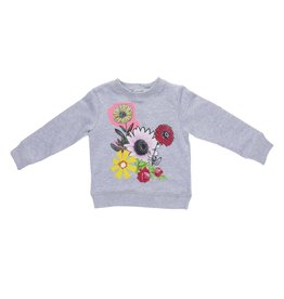 Stella McCartney Kids Stella McCartney Kids BETTY SWEATER W/COLLAGE PRINT
