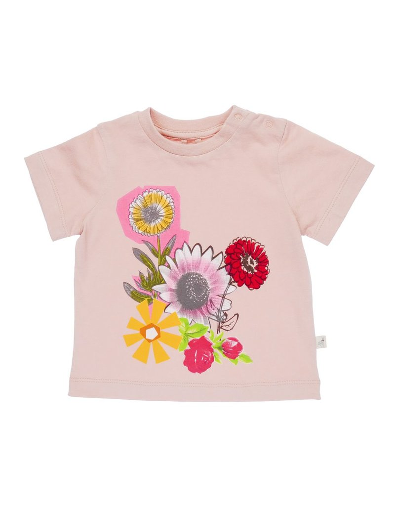 Stella McCartney Kids Stella McCartney Kids CHUCKLE TEE FLORAL COLLAGE PRINT