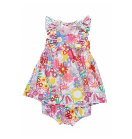 Stella McCartney Kids Stella McCartney Kids AUGUST BABY DRESS FLORAL PRINT
