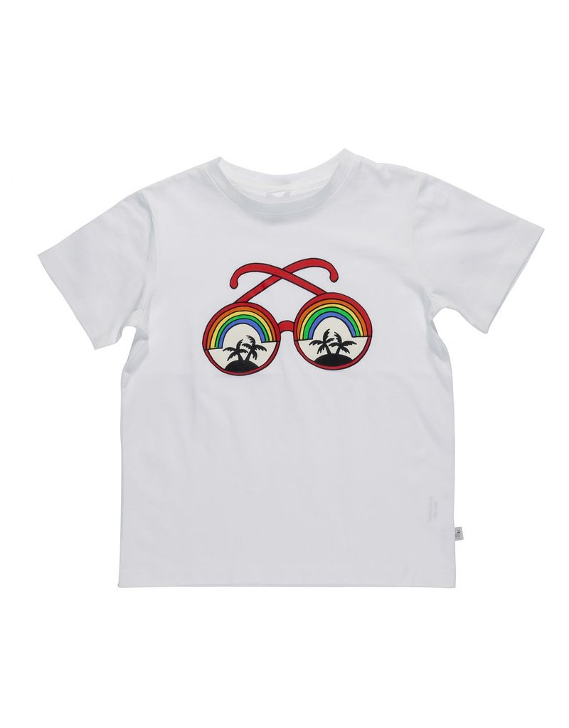 Stella McCartney Kids Stella McCartney Kids ARLO TEE W/SUNGLASSES PRINT