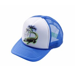 Stella McCartney Kids Stella McCartney Kids HAMPTON HAT W/PALM & CROCO PRINT
