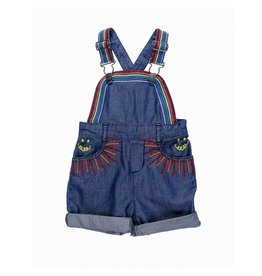 Stella McCartney Kids Stella McCartney Kids SUNBEAM DUNGAREES RAINBOW