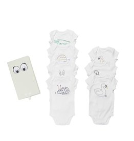 Stella McCartney Kids Stella McCartney Kids SAMMIE BODYSUITS - 7 DAY SET