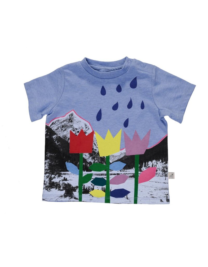 Stella McCartney Kids Stella McCartney Kids CHUCKLE W/LANDSCAPE PR TEE