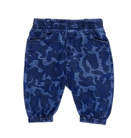 Stella McCartney Kids Stella McCartney Kids PIPKIN TROUSER CAMO BLUE PRINT