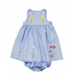 Stella McCartney Kids Stella McCartney Kids POSIE BABY DRESS EMBRO FLOWERS
