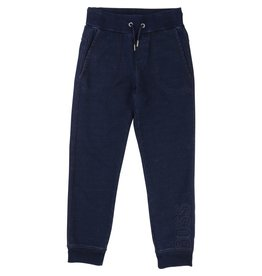 Hugo Boss Hugo Boss Indigo fleece pants with treatment