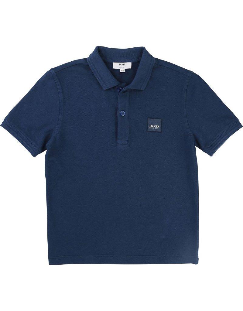 Hugo Boss Hugo Boss Piqué polo shirt with treatment