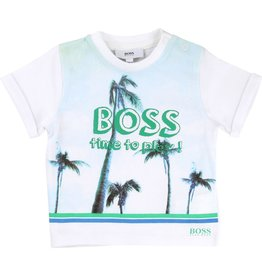 Hugo Boss Hugo Boss Cotton jersey tee shirt