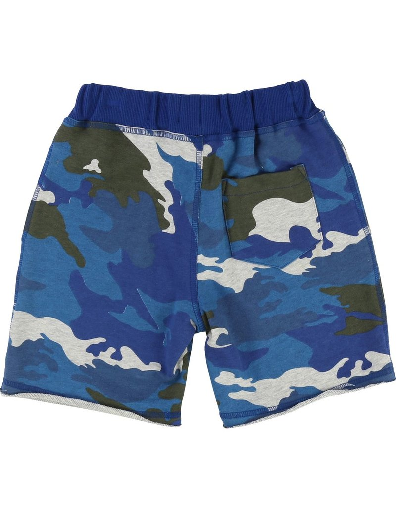 Zadig and Voltaire Zadig and Voltaire Fleece shorts with camo print