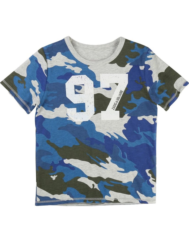 Zadig and Voltaire Zadig and Voltaire Cotton jersey reversible tee shirt