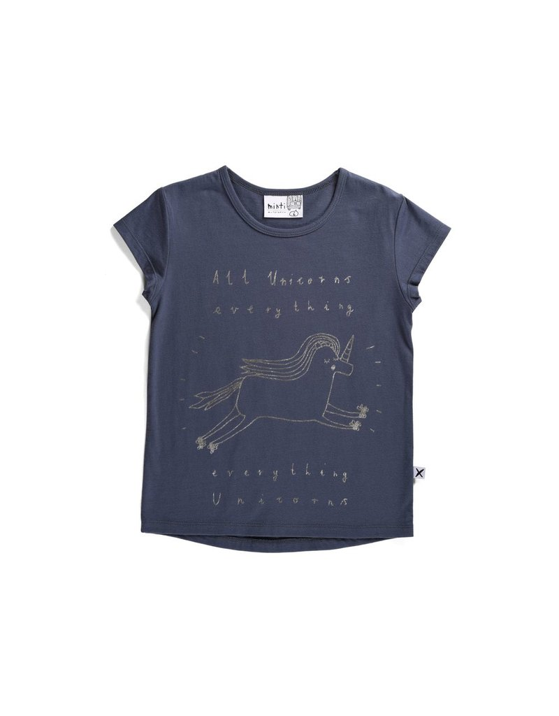Minti Minti Everything Unicorns Tee