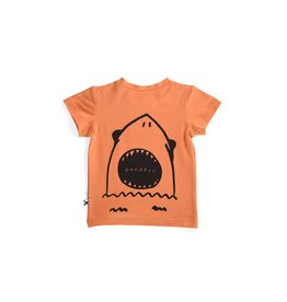 Minti Minti Hello Goodbye Shark Tee