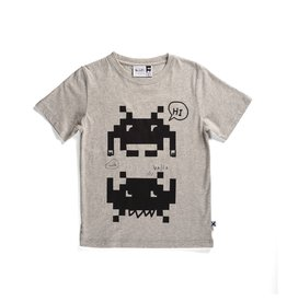 Minti Minti Friendly Space Invaders Tee