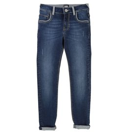 Karl Lagerfeld Kids Karl Lagerfeld Slim 5 pockets denim pants