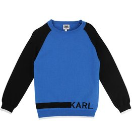 Karl Lagerfeld Kids Karl Lagerfeld Knitted sweater