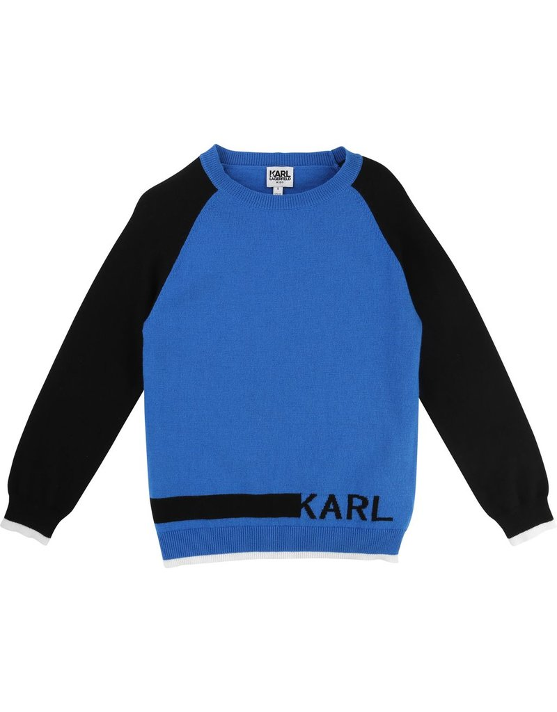 Karl Lagerfeld Kids Karl Lagerfeld Knitted sweater