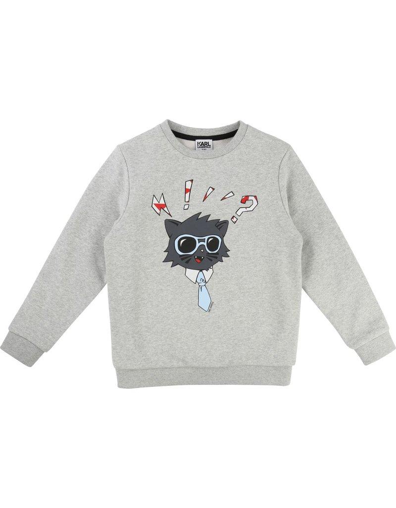 Karl Lagerfeld Kids Karl Lagerfeld French terry sweatshirt