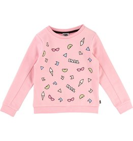 Karl Lagerfeld Kids Karl Lagerfeld French terry sweatshirt with Choupette