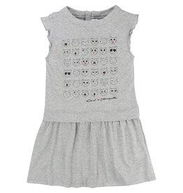 Karl Lagerfeld Kids Karl Lagerfeld Jersey dress with zip