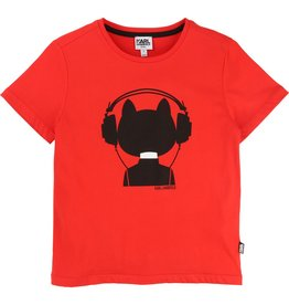 Karl Lagerfeld Kids Karl Lagerfeld Cotton jersey tee-shirt