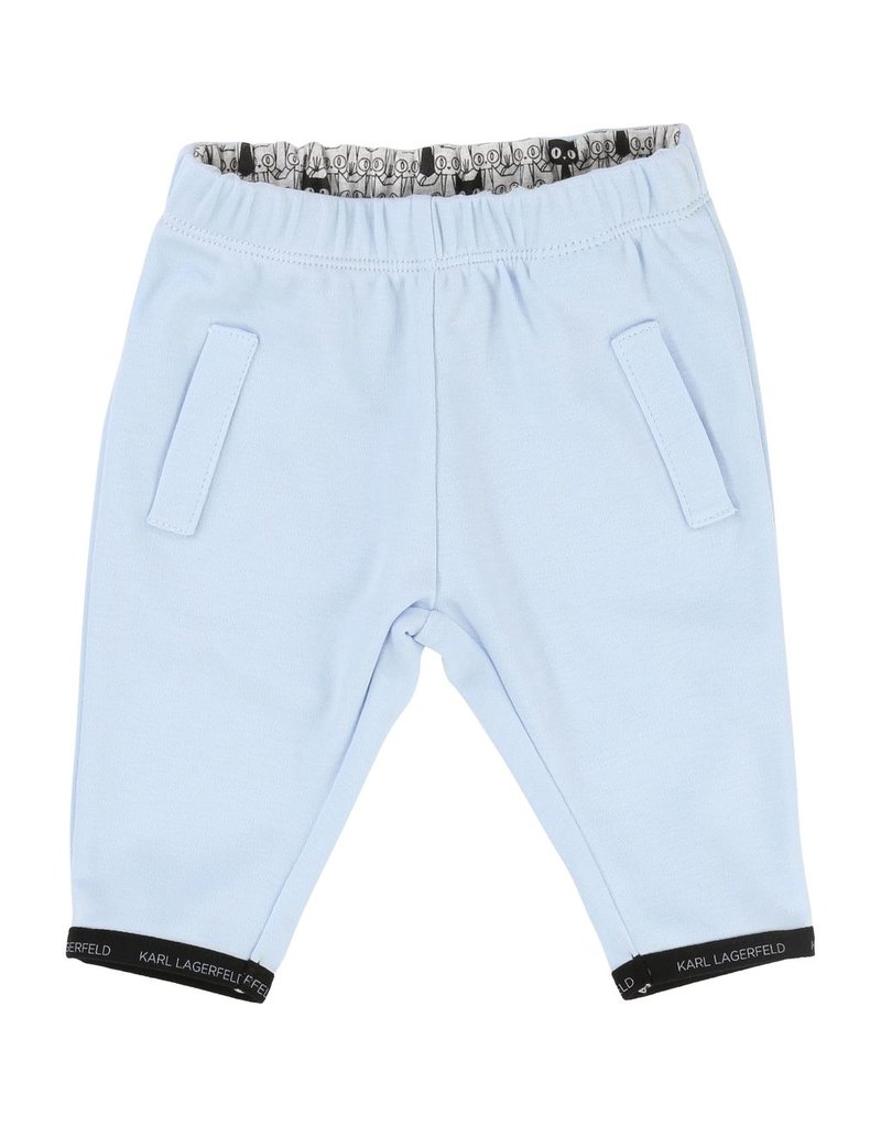 Karl Lagerfeld Kids Karl Lagerfeld Interlock sweat pants