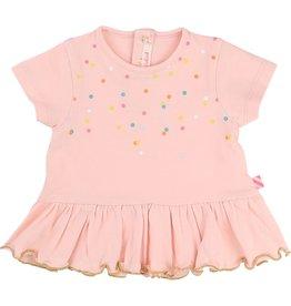 Billie Blush Billie Blush Cotton elastane jersey Tee Shirt