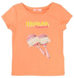 Billie Blush Billie Blush Jersey tee shirt, short sleeves, embroidery