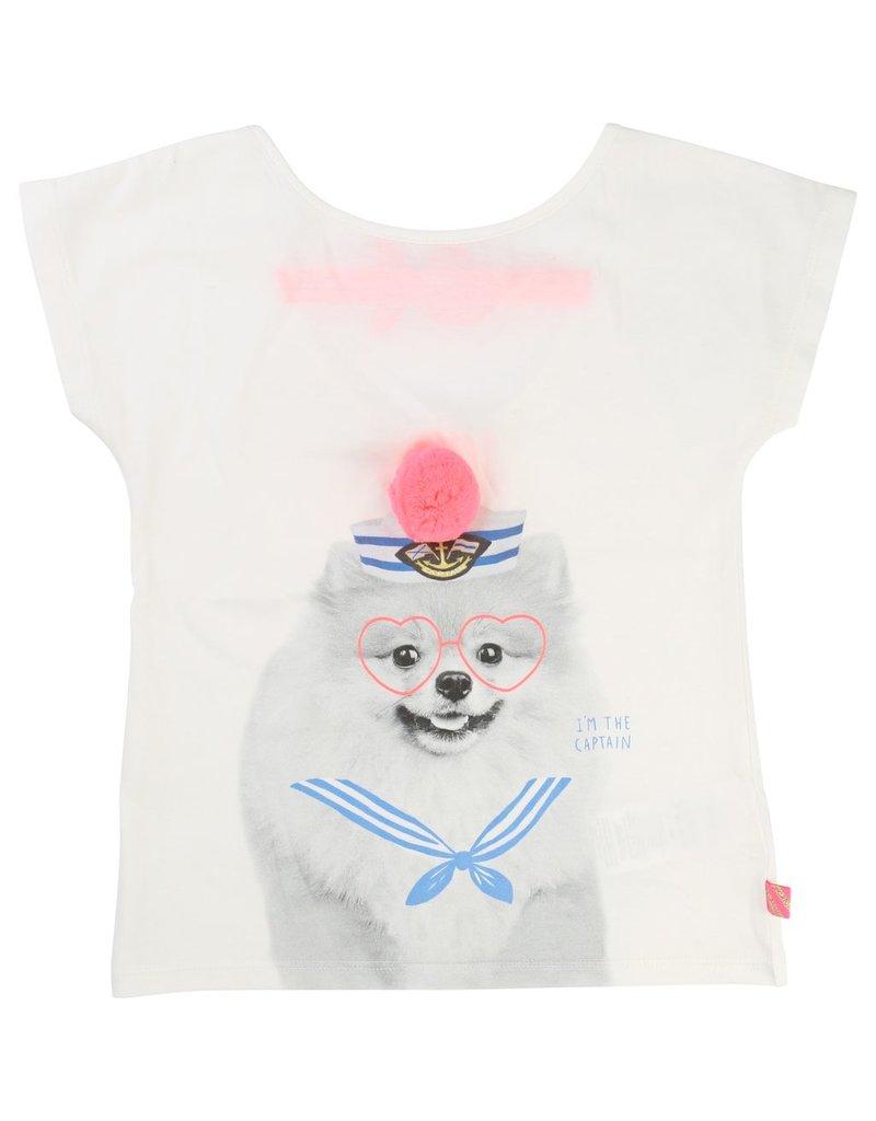 Billie Blush Billie Blush Cotton jersey Tee Shirt, short sleeves