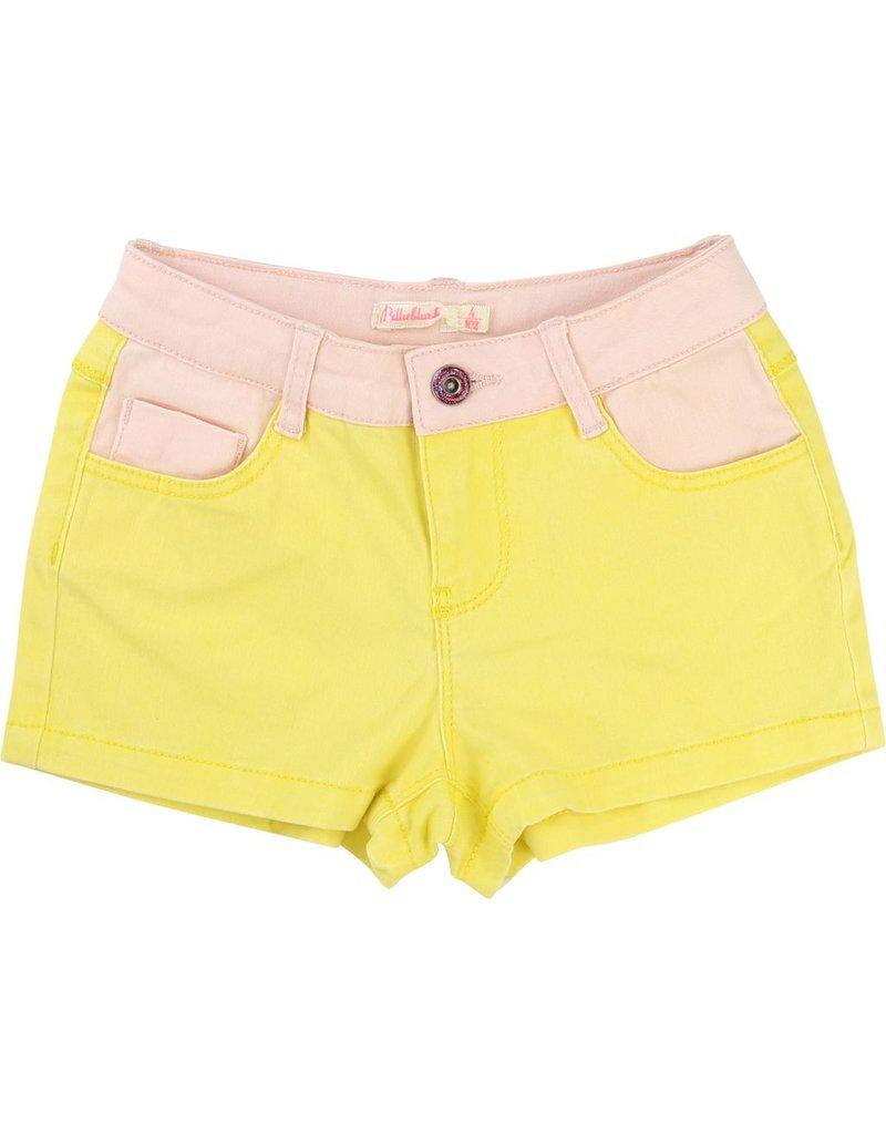 Billie Blush Billie Blush Cotton elastane twill Shorts