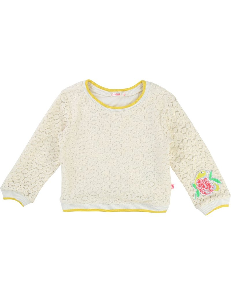 Billie Blush Billie Blush Lace Sweater