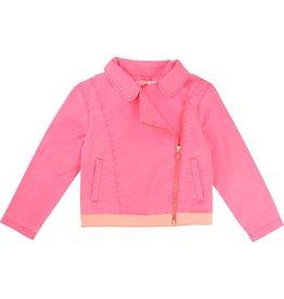 Billie Blush Billie Blush Cotton elastane twill Jacket.