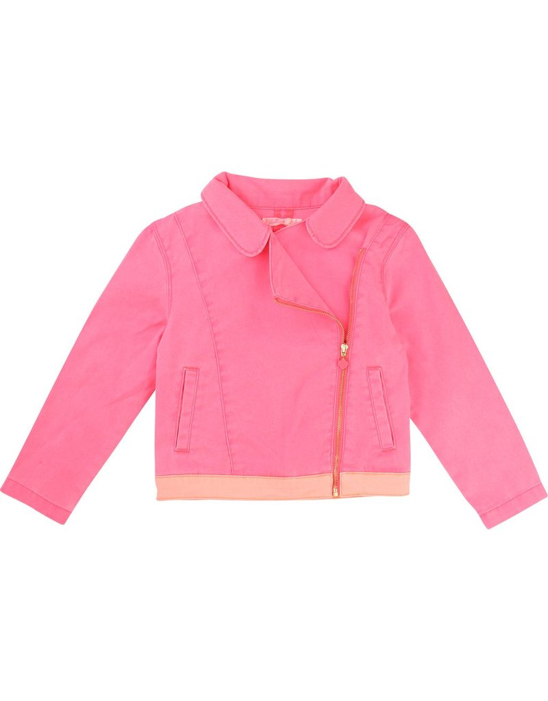 Billie Blush Billie Blush Cotton elastane twill Jacket.