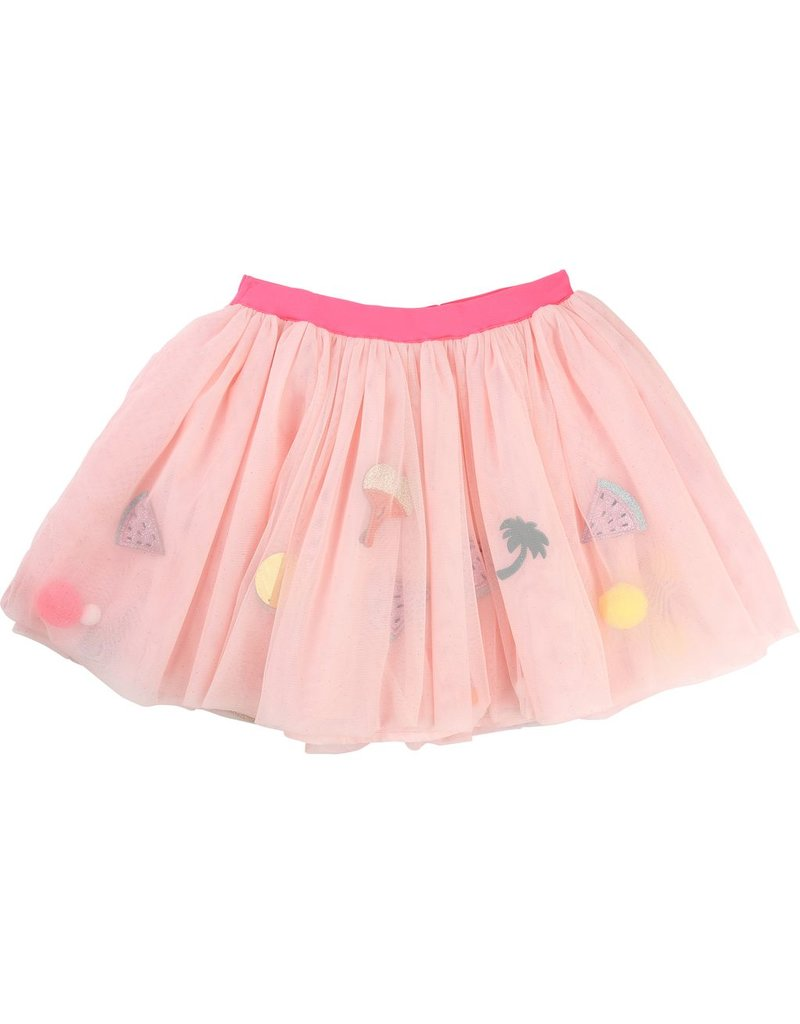 Billie Blush Billie Blush Tulle Tutu sequin skirt