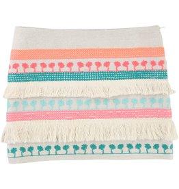 Billie Blush Billie Blush Lurex cotton canvas Skirt, fancy trimand sequin.