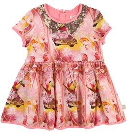 Billie Blush Billie Blush Print viscose Dress
