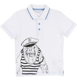 Little Marc Jacobs Little Marc Jacobs Cotton piqué Polo Shirt