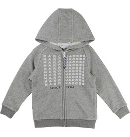 Little Marc Jacobs Little Marc Jacobs Fleece Hooded Cardigan
