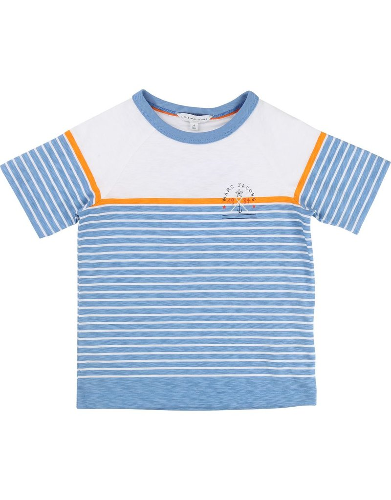 Little Marc Jacobs Little Marc Jacobs Jersey Stripe Tee Shirt