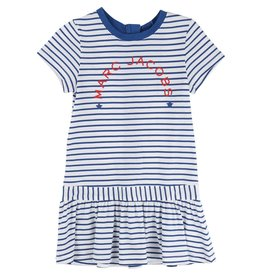 Little Marc Jacobs Little Marc Jacobs Modal jersey striped Dress