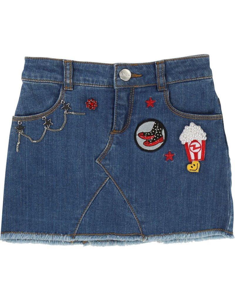 Little Marc Jacobs Little Marc Jacobs Mini denim Skirt